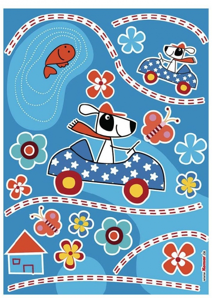 Sticker decorativ 17003 Dog's Day